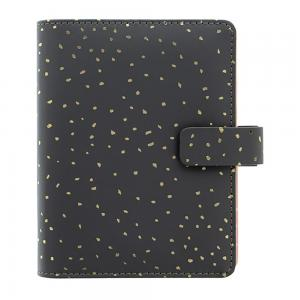 Filofax Confetti Pocket Charcoal