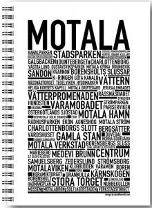 Gullers Anteckningsbok Motala - Kalenderkungen.se