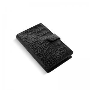 Filofax Classic Croc Personal Compact Ebony