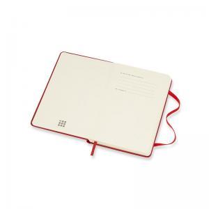 Moleskine Weekly Notebook Red hard pocket 2022