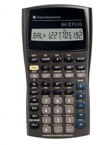 Texas Instruments Miniräknare TI-BA II Plus - Kalenderkungen.se