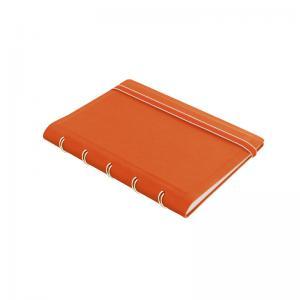 Filofax Notebook orange linjerad pocket