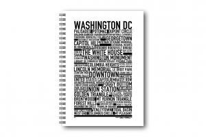 Anteckningsbok Washington DC
