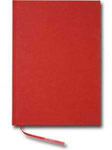 Paperstyle Linjerad Notebook A4 192 sidor Red - Kalenderkungen.se
