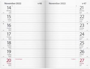 Maxinote blå kartong 2022