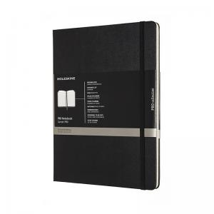 Moleskine Moleskine Pro Hard Ruled Notebook XL Black - Kalenderkungen.se