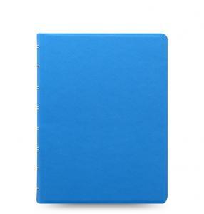 Filofax Saffiano Notebook A5 Fluoro Blue - Kalenderkungen.se