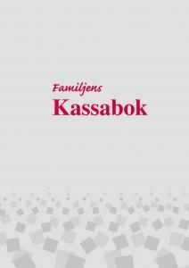 Burde Förlag Familjens Kassabok A4 - Kalenderkungen.se