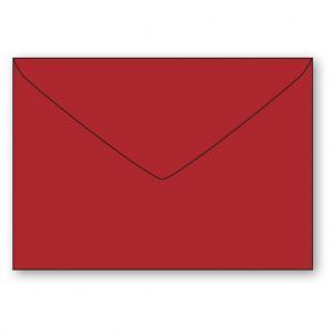 C7 Kuvert 5-pack 110g Röd