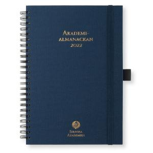 Akademialmanackan 2022 A5 blå