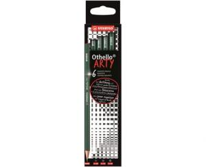 Skisspenna STABILO ARTY Othello H 6-pack