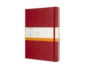 Moleskine Moleskine Notebook X-large Hard Cover - Röd - Linjerad - Kalenderkungen.se