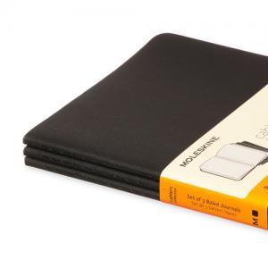 Moleskine Cahier Journal Pocket Ruled - Svart