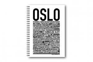 Gullers Anteckningsbok Oslo - Kalenderkungen.se