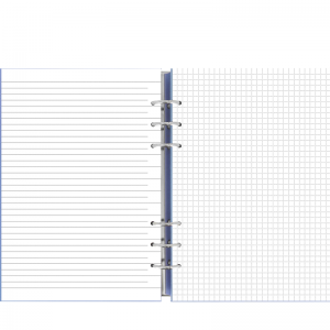 Filofax Clipbook A5 Vista Blue