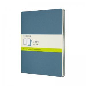 Moleskine Moleskine Cahier Journal Plain X-Large Brisk Blue - Kalenderkungen.se