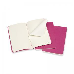 Moleskine Moleskine Cahier Journal Plain Pocket Pink - Kalenderkungen.se
