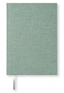 Olinjerad Blank Book A5 - 128 sidor Misty green