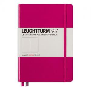 Leuchtturm1917 Leuchtturm Notebook A5 hard 249s Berry olinjerad - Kalenderkungen.se