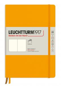 Leuchtturm Notebook A5 soft olinjerad Rising Sun