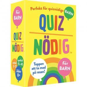 Spel QuizNödig - För barn