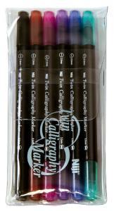 Kalligrafipenna NiJi Calligrafi VB, 4-pack