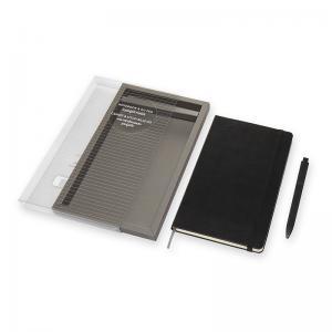 Moleskine Moleskine Notebook Large & Go Pen set svart - Kalenderkungen.se