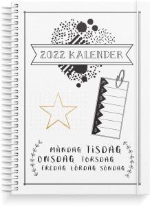 Veckoplanering Doodle III A5 2022