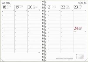 Kalender Study A5 Dotty 2021-2022