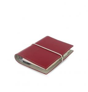Filofax Domino Pocket Röd