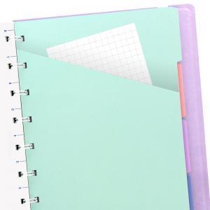 Filofax Filofax A5 Classic Notebook Linjerad Orchid - Kalenderkungen.se