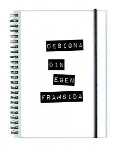 Burde Förlag Spiralblock Your Design A5 - Kalenderkungen.se