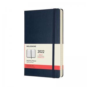 Moleskine Moleskine Daily Blue Hard Large 2022 - Kalenderkungen.se