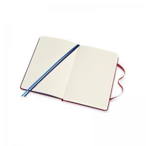 Moleskine Moleskine Two Go Notebook M Cranberry Red - Kalenderkungen.se