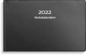 Veckokalender 2022 svart plast