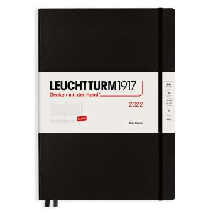 Kalender Leuchtturm1917 Daily Planner A4+ Black 2022