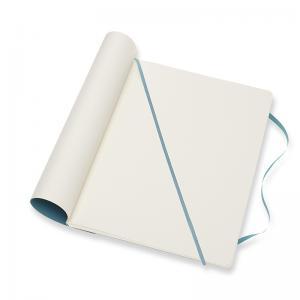 Moleskine Moleskine Notebook X-large Soft Cover - Reef Blue - Olinjerad - Kalenderkungen.se