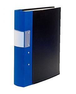 Emo gaffelpärm A4 40 mm blå - Kalenderkungen.se