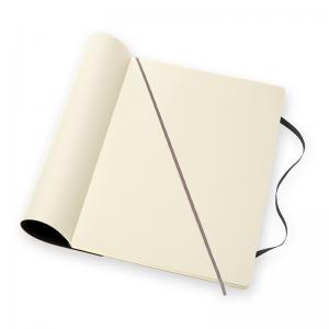 Moleskine Moleskine Classic Soft A4 Plain Notebook Black - Kalenderkungen.se