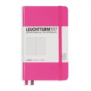 Leuchtturm1917 Leuchtturm A6 hard 185s New Pink linjerad - Kalenderkungen.se