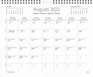 Väggkalender Carl Larsson 2022