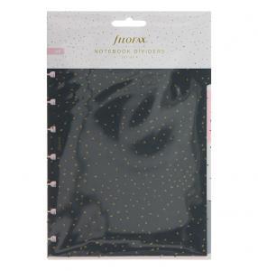 Filofax A5 Notebook avdelare Confetti