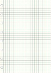 Filofax Extrablad rutade till Filofax Notebbok A5 32 blad 100g papper - Kalenderkungen.se
