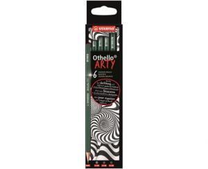 Skisspenna STABILO ARTY Othello B 6-pack