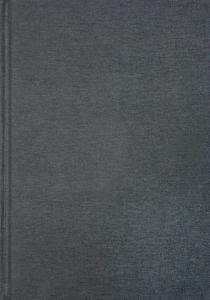 Anteckningsbok A5 olinjerad linnetextil mörkgrå