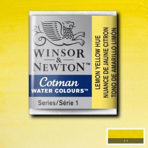 Akvarellfärg Cotman 1/2-kopp Lemon yellow 346