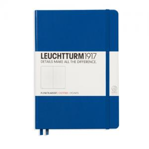 Leuchtturm1917 Leuchtturm Notebook A5 hard 249s Royal blue dotted - Kalenderkungen.se