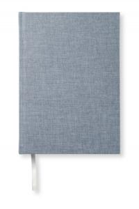 Paperstyle Olinjerad Blank Book A5 - 128 sidor denim - Kalenderkungen.se