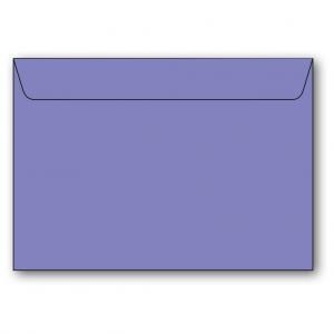 C5 Kuvert 5-pack 110g Mörklila