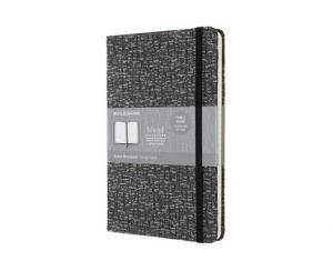 Moleskine Moleskine Blend L Ruled Hard Notebook Grey - Kalenderkungen.se